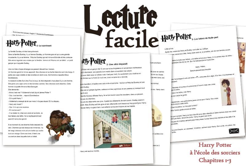 Livre FLE FLsco Harry Potter résumé